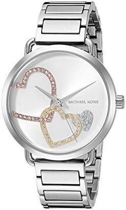 Michael Kors Women's Portia Analog Display Analog Quartz Watch MK3823