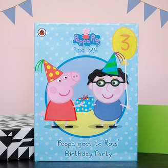 Peppa Pig Penwizard Birthday Party Blue Personalised Book