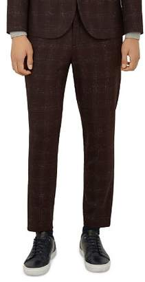 Ted Baker DDarto Bouclé-Check Fit Trousers