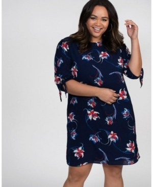 Kiyonna Women's Plus Size Manhattan Shift Dress