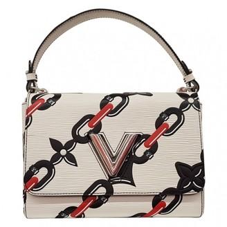 4f0d5f61e3be Louis Vuitton Twist White Leather Handbag
