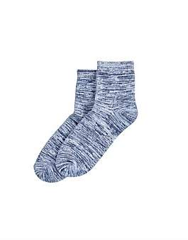 Hue Supersoft Cropped Sock