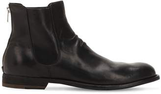 Officine Creative Novak Leather Ankle Boots