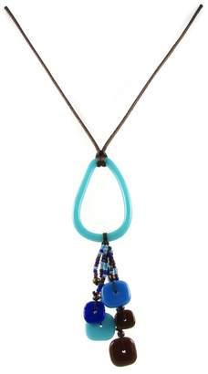 Maku Chaquiras Glass Necklace