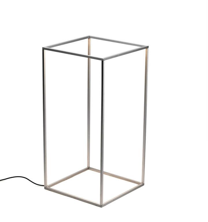 Flos – Ipnos Indoor Bodenleuchte, Silber anodisiert