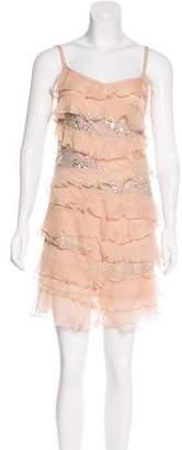 Blugirl Silk Mini Dress