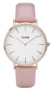 Cluse La Bohème CL8014 Pink Leather Analog Watch