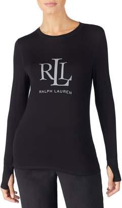 Lauren Ralph Lauren Logo Graphic Lounge Tee