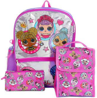 Accessory Innovations LOL Surprise 5-Piece Backpack Set - Girl's