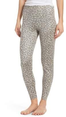 Rag Doll RAGDOLL Leopard Knit Lounge Pant