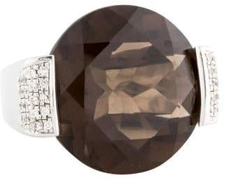Pianegonda Smoky Quartz and Diamond Ring