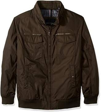 Tommy Hilfiger Men's Big-Tall Polytwill Two Pocket Bomber Jacket