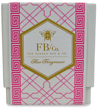 Pink Fretwork Candle - Hydrangea - The French Bee