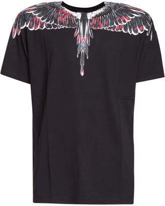 Marcelo Burlon County of Milan Wings Printed T-shirt