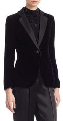 Emporio Armani Velvet Tuxedo Jacket