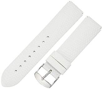 Philip Stein Teslar 2-ZW 20mm Leather Lizard Watch Strap