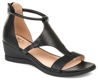 Journee Collection Trayle Wedge Sandal