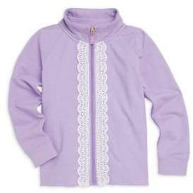 Lilly Pulitzer Little Girl's& Girl's Leona Zip-Up Sweater