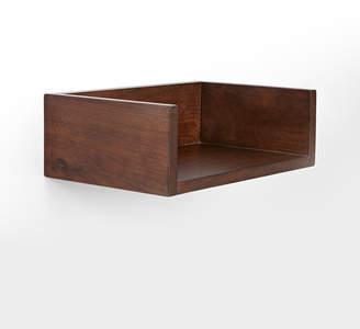 Rejuvenation Open Wood Shelf