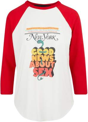 "Marc Jacobs The Baseball"" t-shirt"
