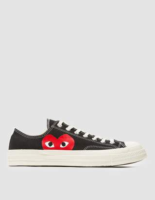 Comme des Garcons Play Converse Chuck Taylor Low in Black