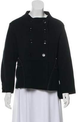 Burberry Double-Breasted Short Jacket