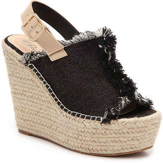 Penny Loves Kenny Notch Wedge Sandal - Women's