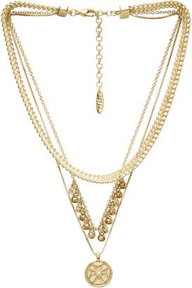 Luv AJ x SABO LUXE Noa Coin Charm Necklace $80 thestylecure.com