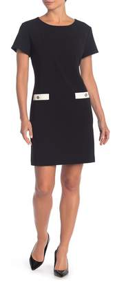Tommy Hilfiger Crew Neck Short Sleeve Dress