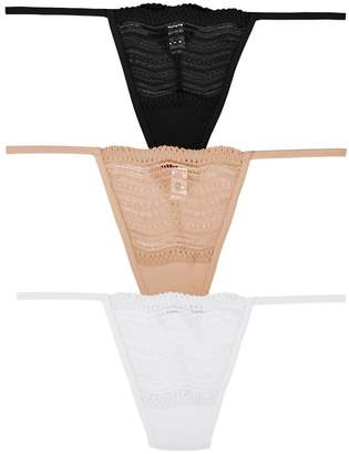 Cosabella Dolce G-String Basic Pack One Size