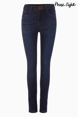 Next Womens Phase Eight Dark Indigo Smart Aida Jean