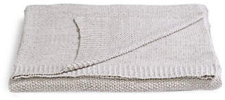 DISTINCTLY HOME Heathered Cotton Blend Knit Throw