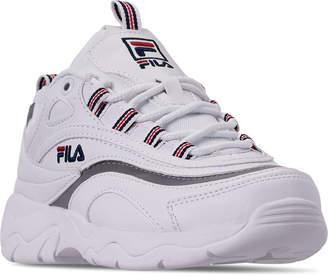 857f27b15b1 Fila White Boys  Shoes - ShopStyle