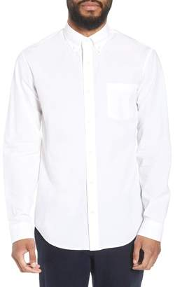 Vince Slim Fit Solid Sport Shirt