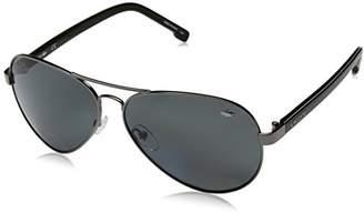 Lacoste L163sp Polarized Aviator Sunglasses