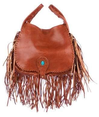 Rebecca Minkoff Leather Fringe Satchel