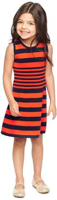 Milly Minis MillyMilly Striped Ottoman Flare Dress