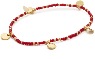 Shashi Disc Stretch Bracelet $35 thestylecure.com