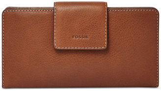 Fossil Emma RFID Tab Clutch Wallet $65 thestylecure.com