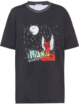 Miu Miu x Eri Wakiyama Fantasy print T-shirt