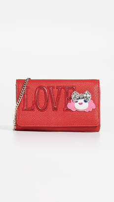 Moschino Wallet on a Chain