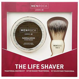 MEN ROCK The Life Shaver Sandalwood Kit