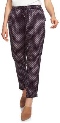 1 STATE 1.State Daisy Foulard Drawstring Pants