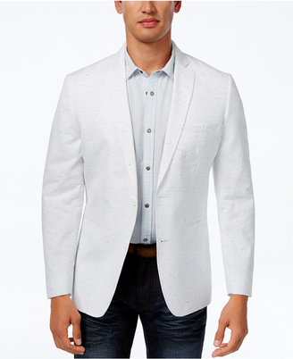 Inc International Concepts Men's Slim-Fit Speckled Blazer, Created for Macy's $129.50 thestylecure.com
