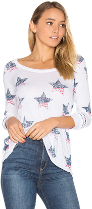 Chaser American Stars Long Sleeve Tee $68 thestylecure.com