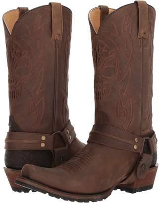 Roper Skull Cowboy Boots
