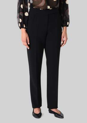 Giorgio Armani Double Wool Trousers