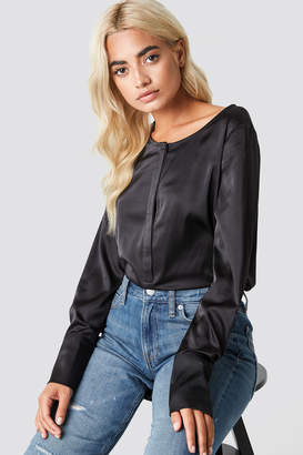 Rut & Circle Rut&Circle Front Placket Blouse Black