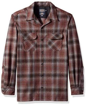 Pendleton Men's Fitted Long Sleeve Board Shirt