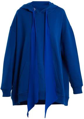 Givenchy Oversized hooded cotton sweatshirt